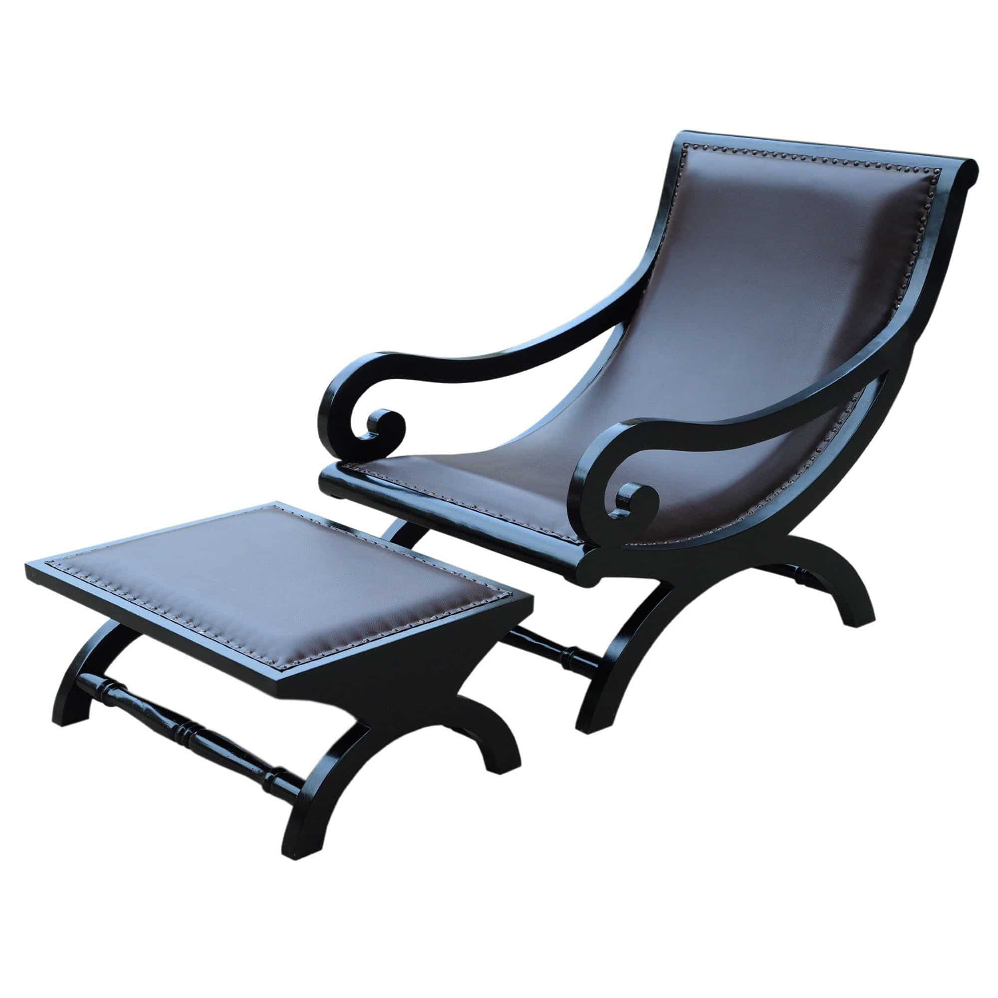 Chacha Relaxing Chair & Foot Stool 3