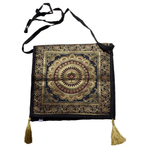 Jodhpur Black Indian Shoulder Bag 1