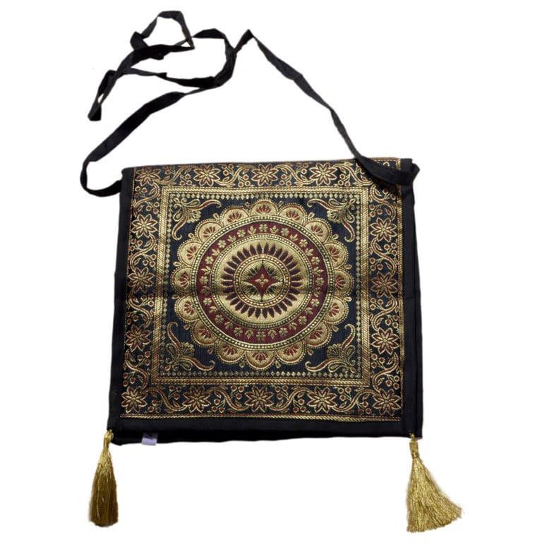 Jodhpur Black Indian Shoulder Bag 6