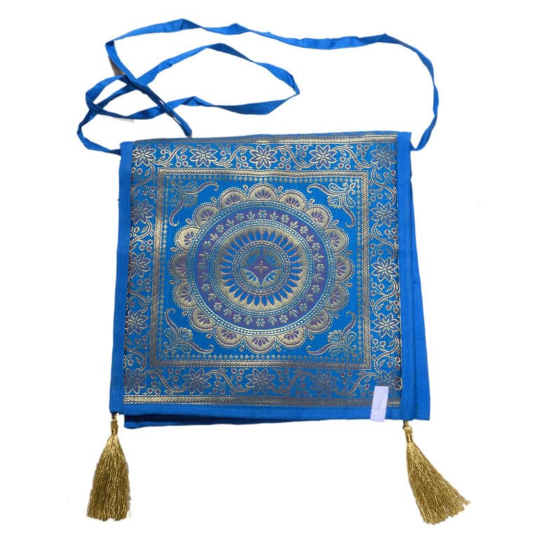 Jodhpur Blue Indian Shoulder Bag 7