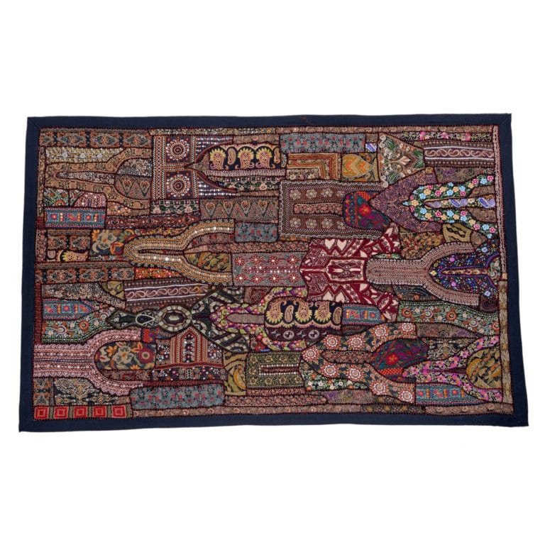 Jodhpur Cotton Dress Patchwork Wall Hang PWH02 3