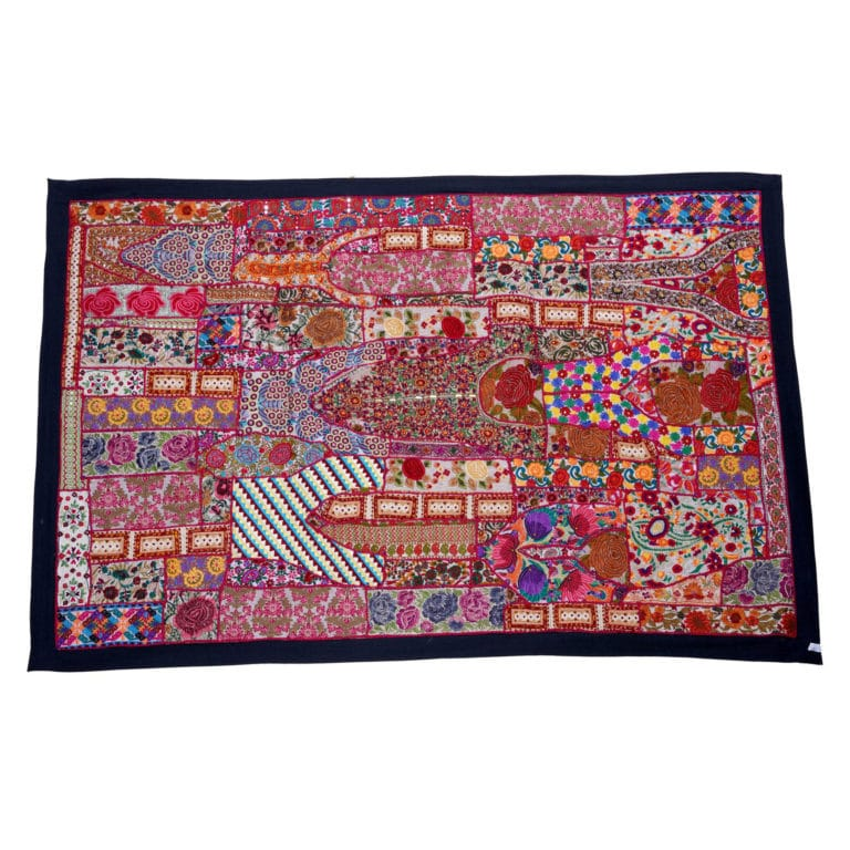 Jodhpur Cotton Dress Patchwork Wall Hang PWH03 4