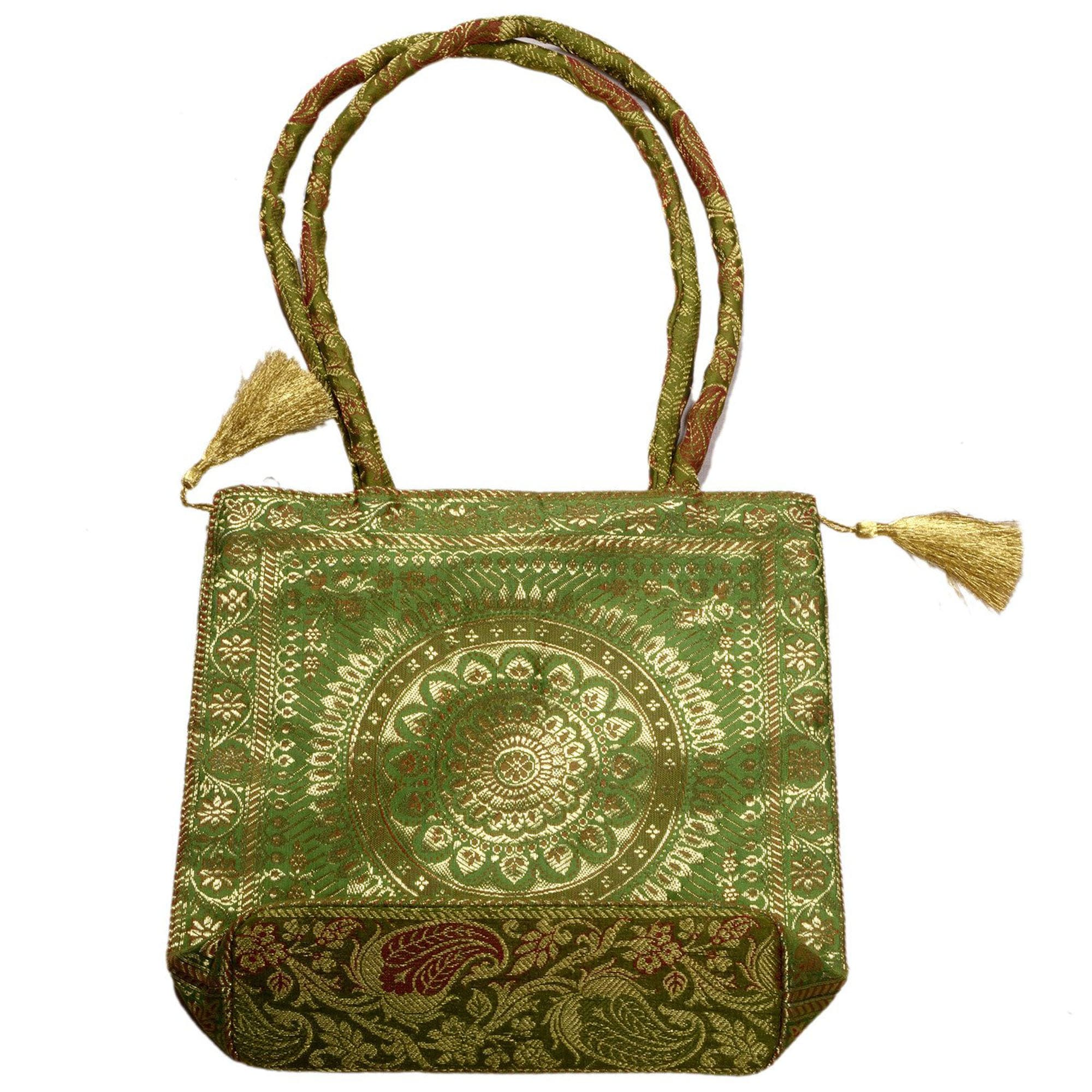 Jodhpur Green Indian Dress Bag 3