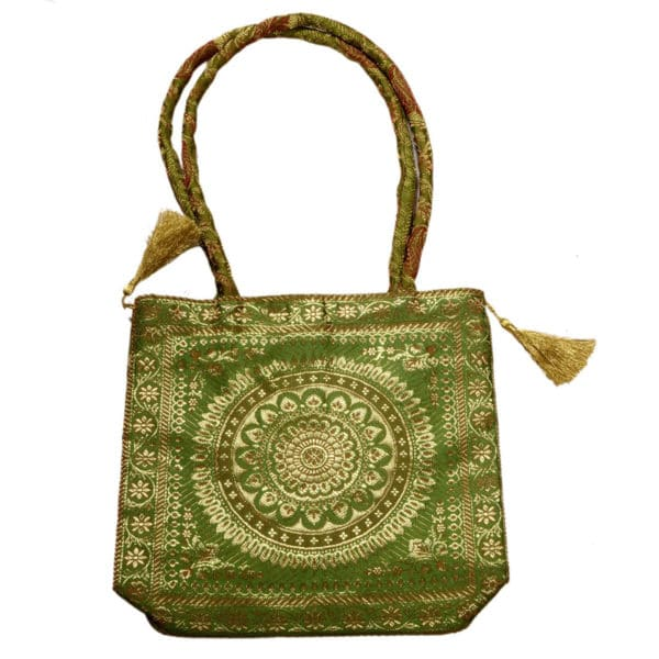 Jodhpur Green Indian Dress Bag 1