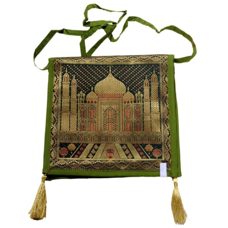 Jodhpur Green Indian Shoulder Bag 5