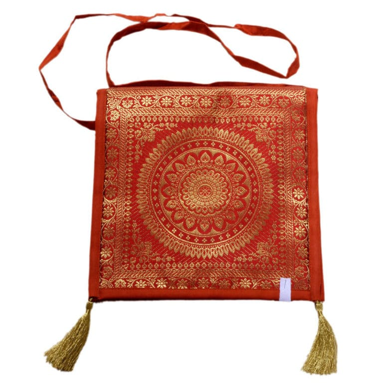 Jodhpur Orange Indian Shoulder Bag 4