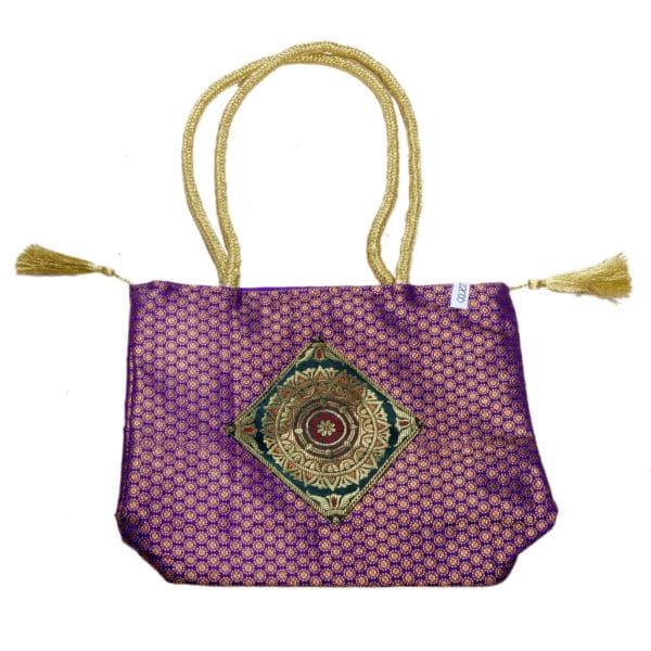 Jodhpur Purple Indian Dress Bag 1
