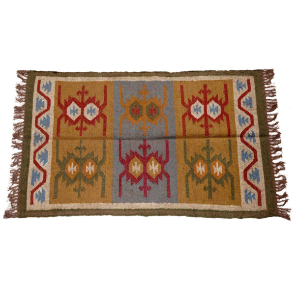Rajasthan Cotton Wool Rug CWR02 1