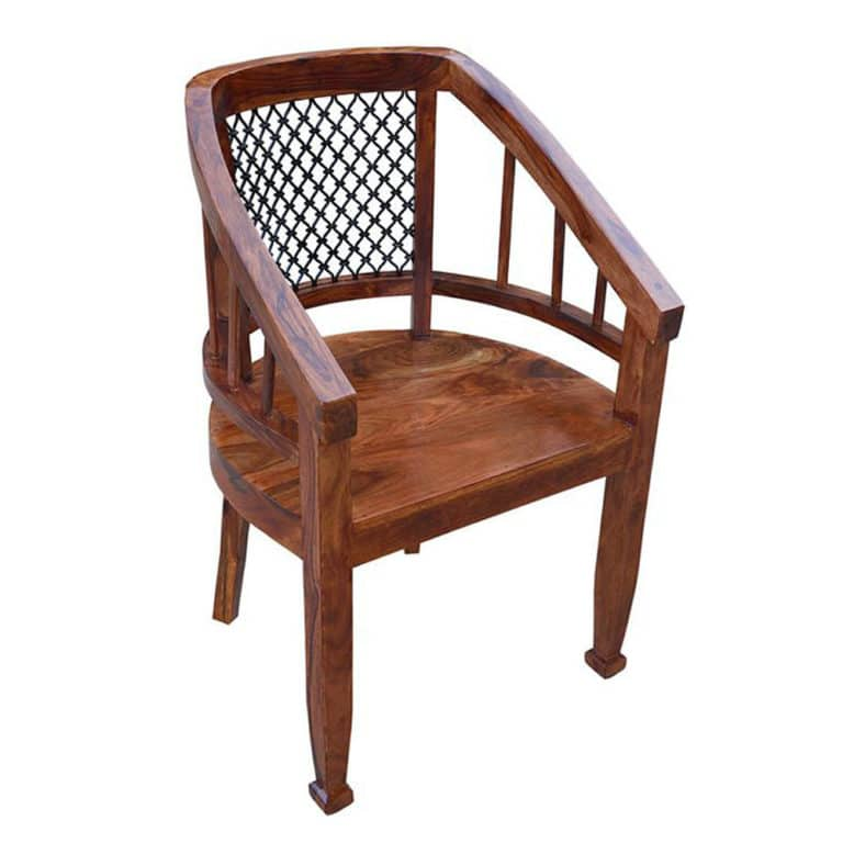 Sheesham Arm Chair 9