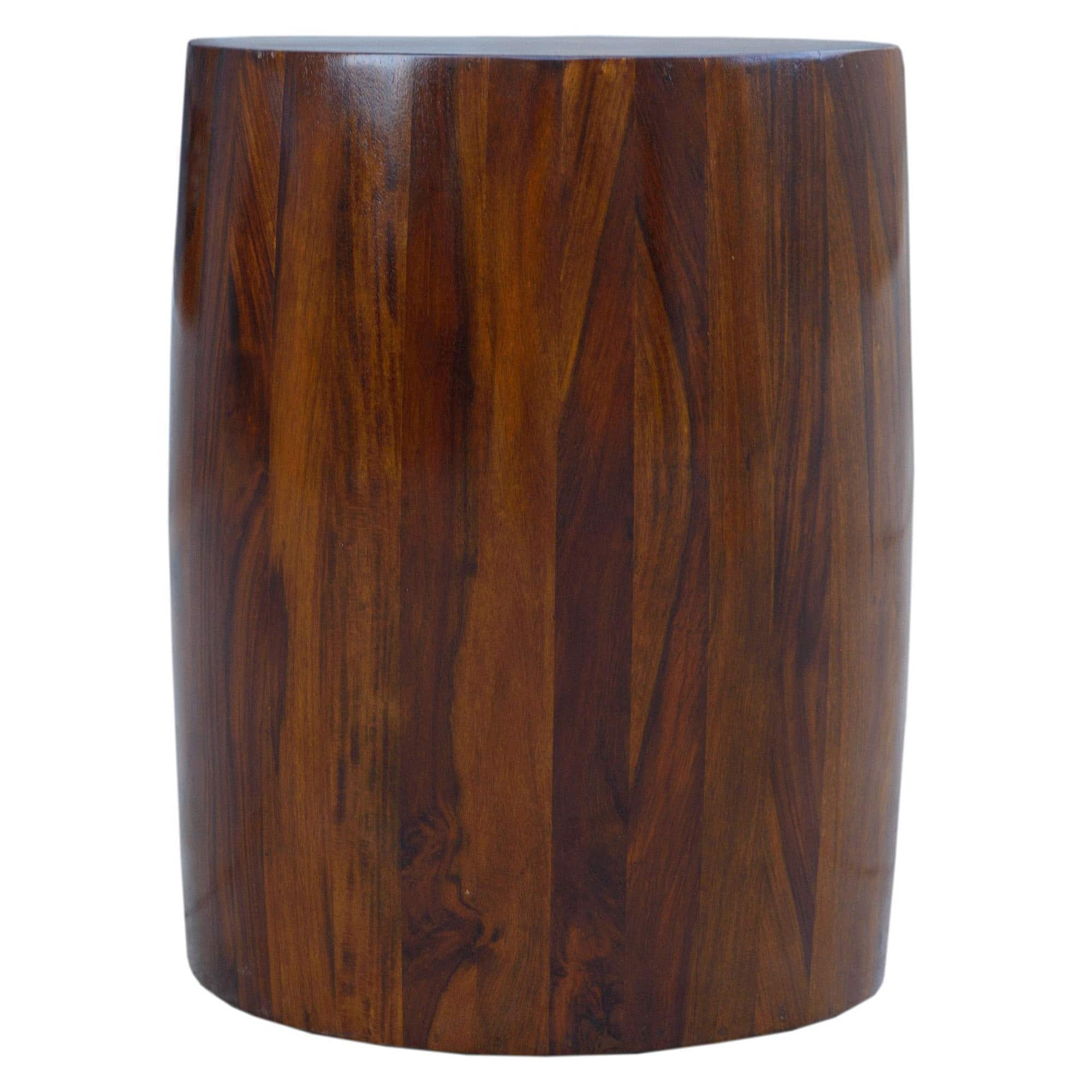Sheesham Brown Solid Tubla Stool 3