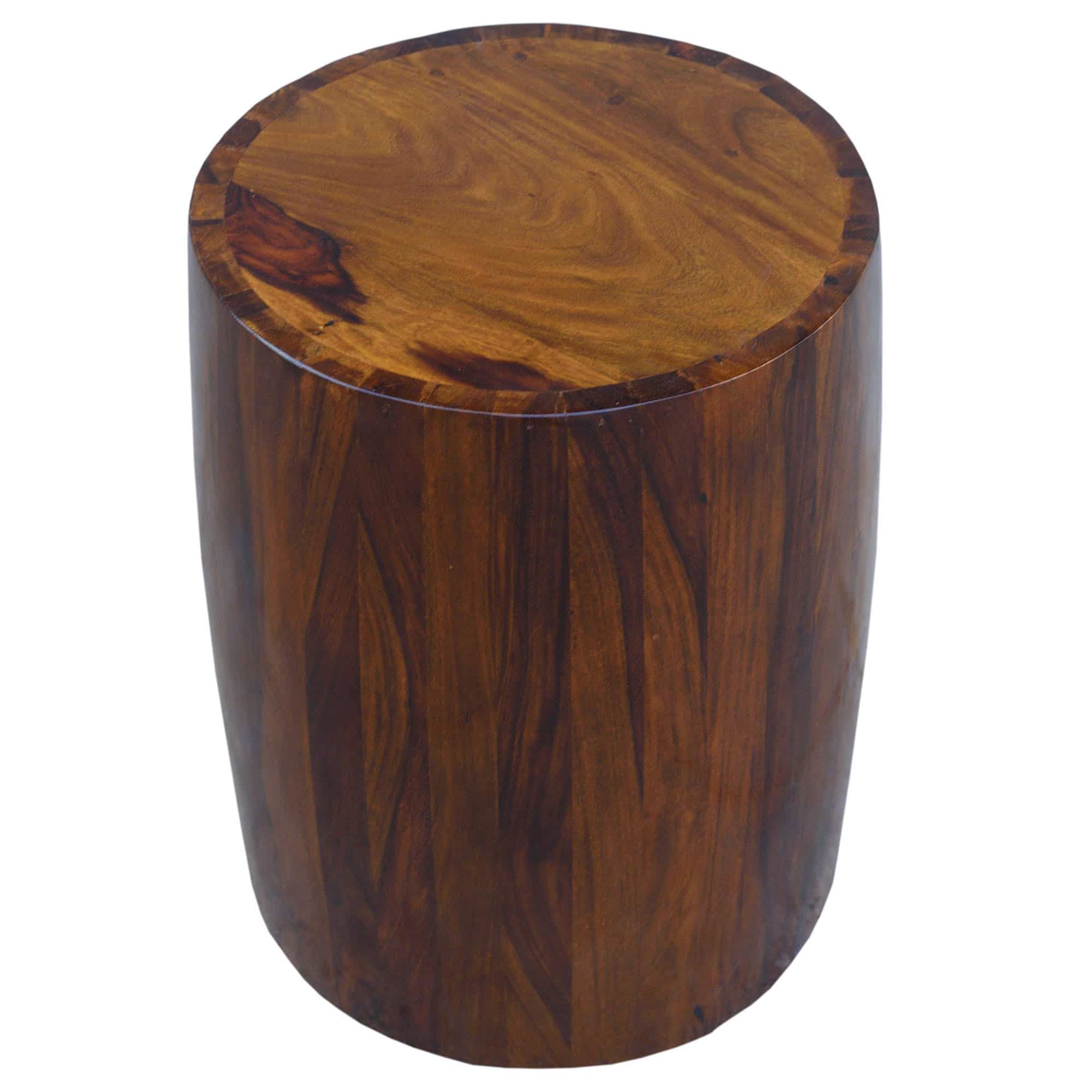 Sheesham Brown Solid Tubla Stool 2